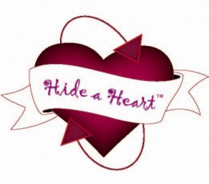hide a heart logo